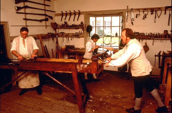 Friday link dump: colonial gunsmith